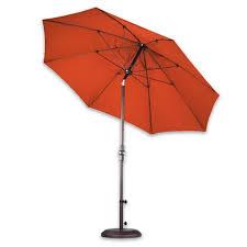 Wind Resistant Patio Umbrella 9 U0027 Fiberglass Rib Aluminum Patio Umbrella Pacifica