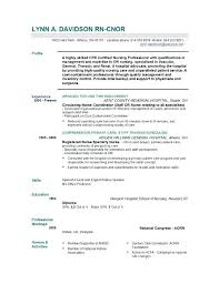 nursing resume with experience sle resume graduate nurse sle resume experienced nursing