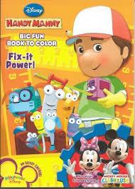 handy manny big fun book color