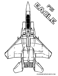 airplane coloring page printable f 15 eagle air force airplane mach 2 5 you can print out this
