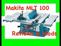 makita portable table saw makita mlt100 portable contractors site table saw review and