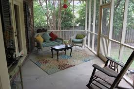 country porch with doors exterior tile floors in columbia