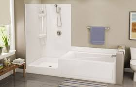 rv corner tub shower combo get shape