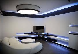 futuristic home interior black and white futuristic interior design of apartment 2