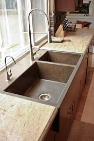 Perfect Kitchen Faucet With Pull by Custom Kitchen Portfolio By Concrete Wave Design Concrete
