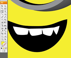 minion mouth clipart