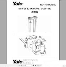 yale forklift full set pdf parts u0026 manuals in code readers