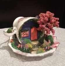 teacup garden garden in cup saucer miniature garden