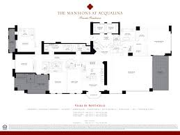 Floor Plan Of A Mansion by Mansions At Acqualina Luxury Oceanfront Condos In Sunny Isles Beach