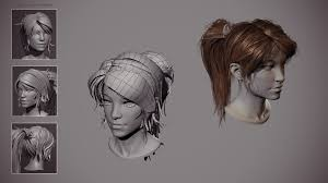 artstation fighter within real time haircut alexandre fiolka