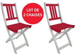 chaises pliantes conforama lot de 2 chaises pliantes de jardin coloris vente