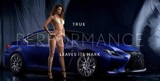 who is the in the lexus commercial scorching lisala montenegro in lexus rc f commercial