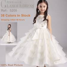 china glamour factory wholesale ball gown kids party dress