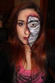 Goth Look For Halloween by Horror Partyface