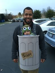 Unique Family Halloween Costume Ideas With Baby by Baby Carrier Costume Oscar The Grouch Halloween Costume