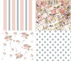shabby chic wallpaper for walls within stylish bedroom decor