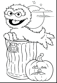 terrific impressive printable coloring page sesame street with