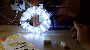 Cool White Led String Lights by Wyzworks 10 U0027 Feet Cool White Led Lights Youtube