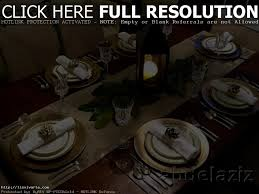 fine dining table setting big couch design