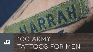 100 army tattoos for