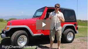2006 tj jeep wrangler 1955 2006 yj tj jeep cb radio kit right channel radios