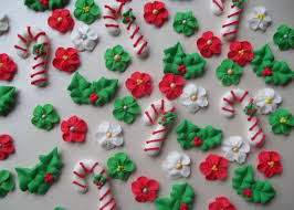 Christmas Cake Decorations Flowers by Best 25 Royal Icing Decorations Ideas On Pinterest Chocolate