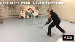 hockey double front fake youtube