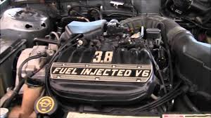Ford Taurus Sho Engine 1989 Ford Taurus Lx 3 8 Liter Youtube