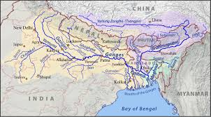 Himalayas On World Map by Difference Between Himalayan And Peninsular Rivers Origins