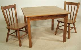 Amish Childs Dining Room Table  Square - Dining room table