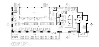 100 resto bar floor plan kitchen restaurant open layout