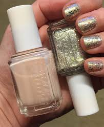 the beauty of life sparkletastic mani essie hors d u0027ouevres and