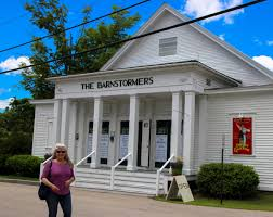 outside home theater summer stock the barnstormers theatre new hampshire public radio