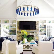 lynn morgan design family time envy cozy familytime entertaining blues