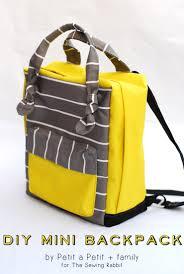 diy mini backpack fjällräven kånken style backpacks bag and