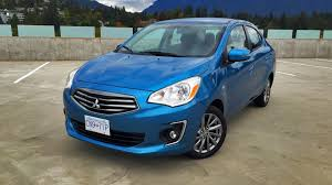 mirage mitsubishi 2017 2017 mitsubishi mirage g4 sedan test drive review