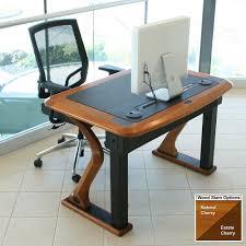 Cherry Wood Desk Artistic Computer Desk Petite Caretta Workspace