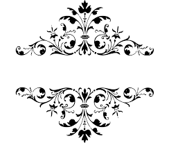 black and white damasks free printable toppers and labels is
