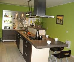 cuisine ilot central cuisson ambiance cuisine meubles contarin