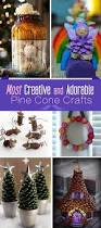 most creative and adorable pine cone crafts creative the
