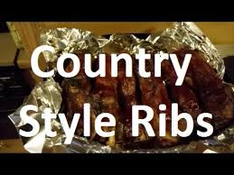 oven baked country style ribs youtube