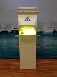 marina power and lighting marina electrical equipment bayside power pedestal model bu3050