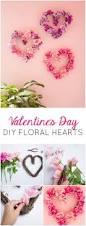 valentine u0027s day decor diy floral hearts floral dollar stores