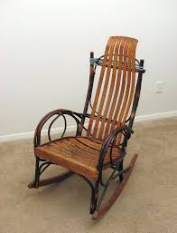 Modern Wooden Rocking Chair Chairs An Old Wooden Rocking Chair Pv Free Stock Photo Furniture