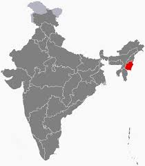 State Capitals Map Manipur Wikipedia