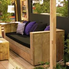 canapé en bois de palette diy faire ses meubles en bois recyclé page 1 déco bass expression