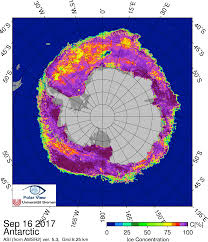 Snow Depth Map Arctic Sea Ice News And Analysis Sea Ice Data Updated Daily With