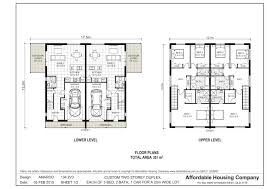 superb duplex designs floor plans 134 2v3 amaroo duplex floor plan
