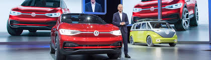 volkswagen electric concept volkswagen presents electric cars of the future