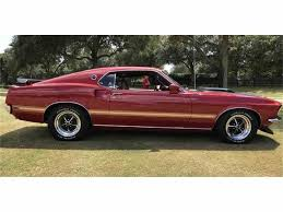 1969 mustang console 1969 ford mustang mach 1 for sale classiccars com cc 1043189